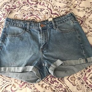 High waisted jeans from H&M